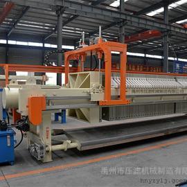 选矿设备程控自动压滤机 尾矿回收设备自动拉板板框压滤机