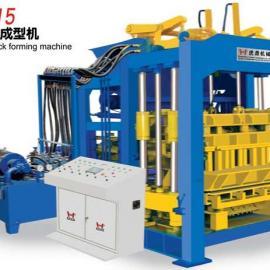 泉州虎鼎砖机QT8-15砌块成型机 8型水泥砖机空心砖机