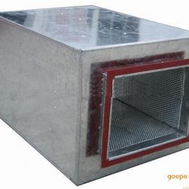 供应微穿孔消声器 空调消声器 阻抗复合消声器 厂家直销3c认证