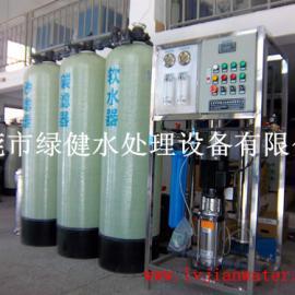 5吨每小时工业除盐水处理设备 反渗透脱盐纯净水设备
