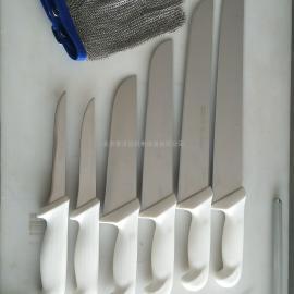巴西进口剔骨刀、分割刀、修割刀、宰牛刀、磨刀棒