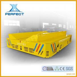 25t轨道电动平板车搬运运输重工件或物料