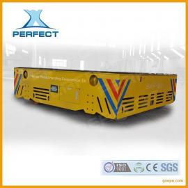 无轨道平板车生产厂家 转运混凝土桥梁柱无轨道平板车