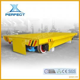 工件胶轮电动平车360度转弯无轨道平板车可加plc控制系统