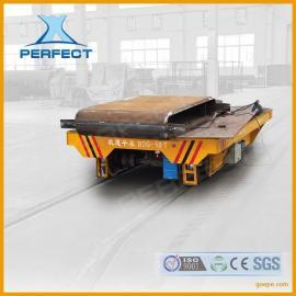批量生产钢渣低压轨道供电轨道车KPDZ-40T轨道运输车