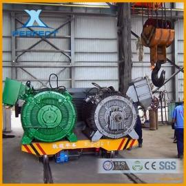 专业搬运机械北京赛车模具低压轨道平车转弯电动平车