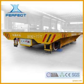 生产抱轴式减速机低压轨道平车公司 低压轨道平车
