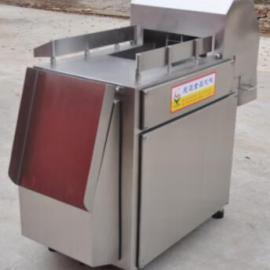 冷冻五花肉切块机,冷冻肉分割切丁机