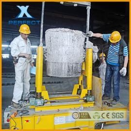 河南帕菲特研发设计的耐高温、安全稳定的电缆卷筒钢包车