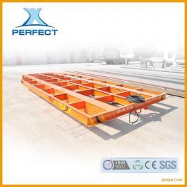 专业生产喷砂房及抛丸车间运输专用地平车