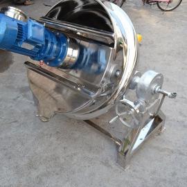 【电加热夹层锅200L】欢迎定制大型不锈钢夹层锅