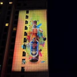 G深圳都市巨影HGL城市亮化工程_户外楼体亮化投影灯