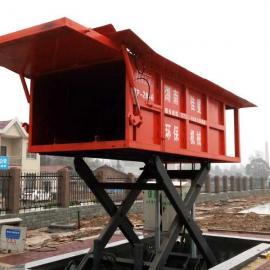 台湾佳星液压厂家直供垃圾中转站设备6方5吨地埋式垃圾压缩站
