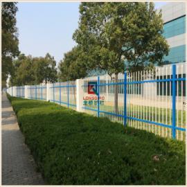 苏州龙桥专业生产围墙 围栏栅栏护栏镀锌钢管表面烤漆处理