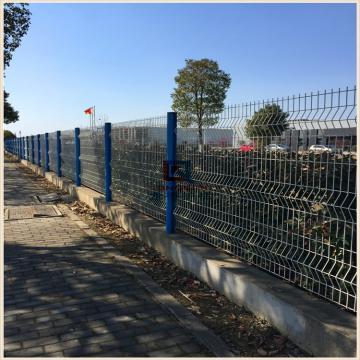 苏州哪里有专业生产小区护栏网的 小区镀锌喷塑的护栏网价格