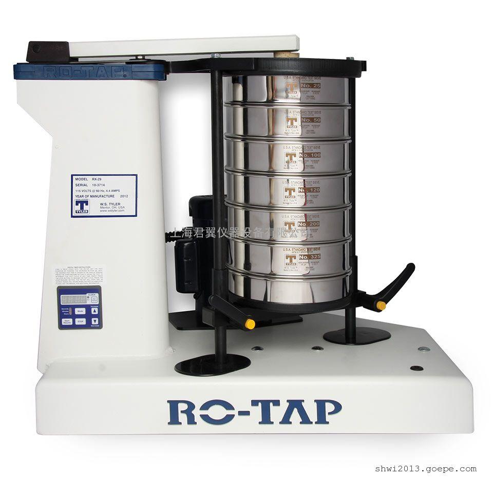 美国W.S Tyler泰勒Ro-Tap型 RX-29-10/RX-30-10旋转振动筛分仪