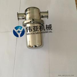 不锈钢304除菌过滤器,WY空气过滤器,蒸汽过滤器