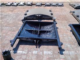 现货供应安徽铸铁闸门,机门一体闸