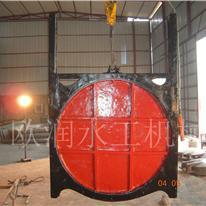 欧润牌农田灌溉铸铁闸门,铸铁圆闸门