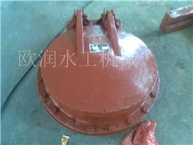 厂家直销广东拍门,铸铁圆拍门