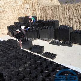 pp雨水收集模块 模块蓄水池 厂家供货 量多价优