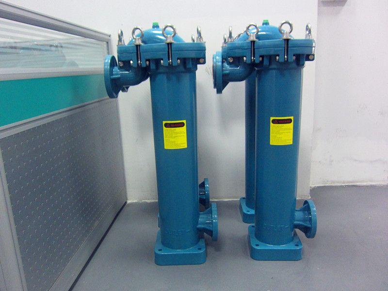 PP全塑过滤器/化工专用PP袋式过滤器/耐强酸碱塑料过滤器