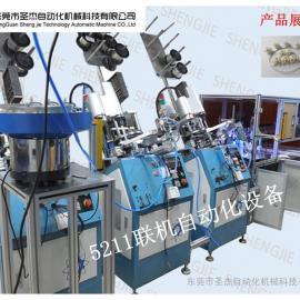 圣杰5211联机自动化CCD检测装配机