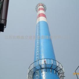 阳江市电厂烟囱防腐,污水池堵漏,凉水塔美化