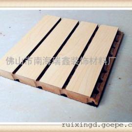 防火阻燃槽木吸音板生产厂家
