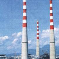 湛江市电厂烟囱防腐,污水池堵漏,凉水塔美化