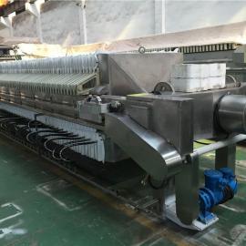 不锈钢自动隔膜压滤机