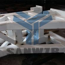 钢结构框架焊接柔性工装夹具,三维柔性组合焊接工装夹具