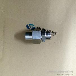JB970标准不锈钢对焊式直通终端活接头