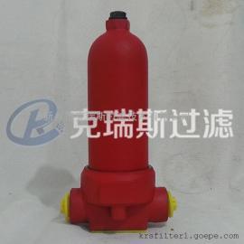 生产批发压力管路过滤器QU-H25-20P国标过滤器加工周期短