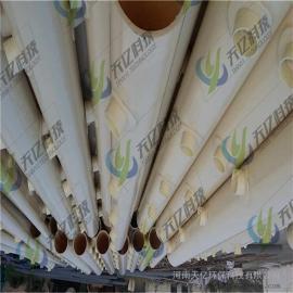黄石ABS穿孔管曝气器、排水曝气充氧用abs管材