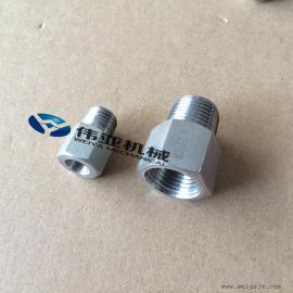 不锈钢内外丝接头,压力表内外丝转换接头