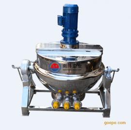 小型搅拌机电加热夹层锅、燃气夹层锅不锈钢蒸汽夹层锅 质量可靠