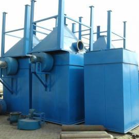 PL型单机除尘器工作原理