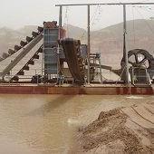 山东青州挖沙船