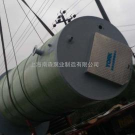 地埋式智能控制雨水一体化预制泵站