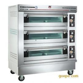 康庭烤箱 三层六盘电烤箱 商用 面包烘炉 康庭蛋糕烤箱