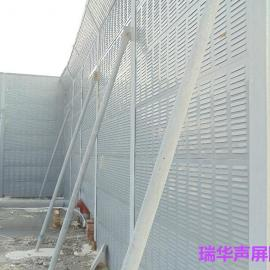 冷却塔声屏障 隔音墙 镀锌板百叶孔 高强降噪30db