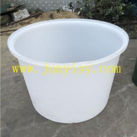 蘑菇泡洗塑料圆形桶 清洗塑料圆形桶