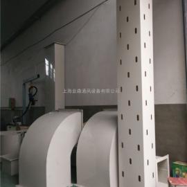 PP注塑料成型防腐风管加工定制 聚丙烯方圆耐酸碱腐蚀通风管道加?