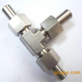 锥密封焊接式三通管接头/T6383.3-2007