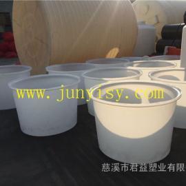 河北1.5立方腌制塑料圆形桶 1500升萝卜干腌制塑料桶
