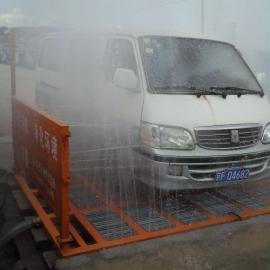 西安建筑工地洗车机设备工程车辆轮胎全自动冲洗平台