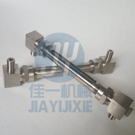 G3/8外螺纹玻璃管液位计 小型玻璃管液位计 小型水位计