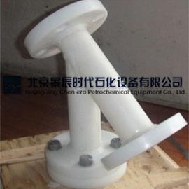 潍坊滨海经济技术开发区耐酸碱Y型管道过滤器 PP法兰过滤器