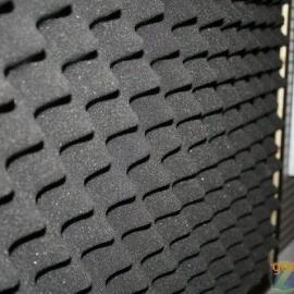 高密度无粉尘阻燃吸音板鸡蛋棉,5cm厚防火波峰吸音海绵现货
